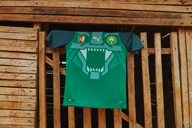 4fcf8ba25 Cameroon s Stunning New Home Shirt Will Go Down As One Of The Best ...