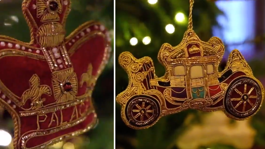 The Royal Family Just Debuted Their Christmas Decorations And They Are So Extra