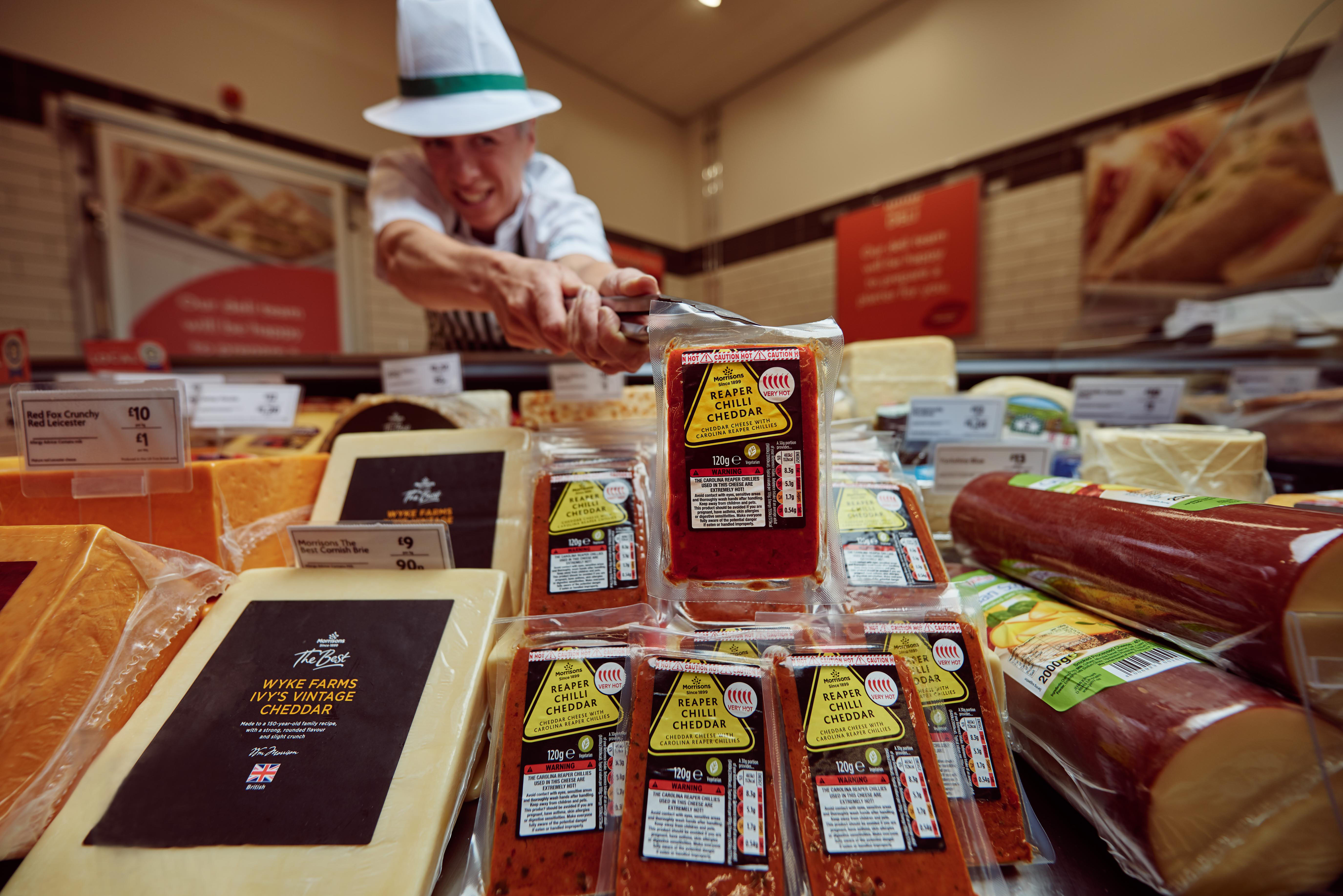 Morrisons Has Just Released 'World's Hottest Chilli Cheese