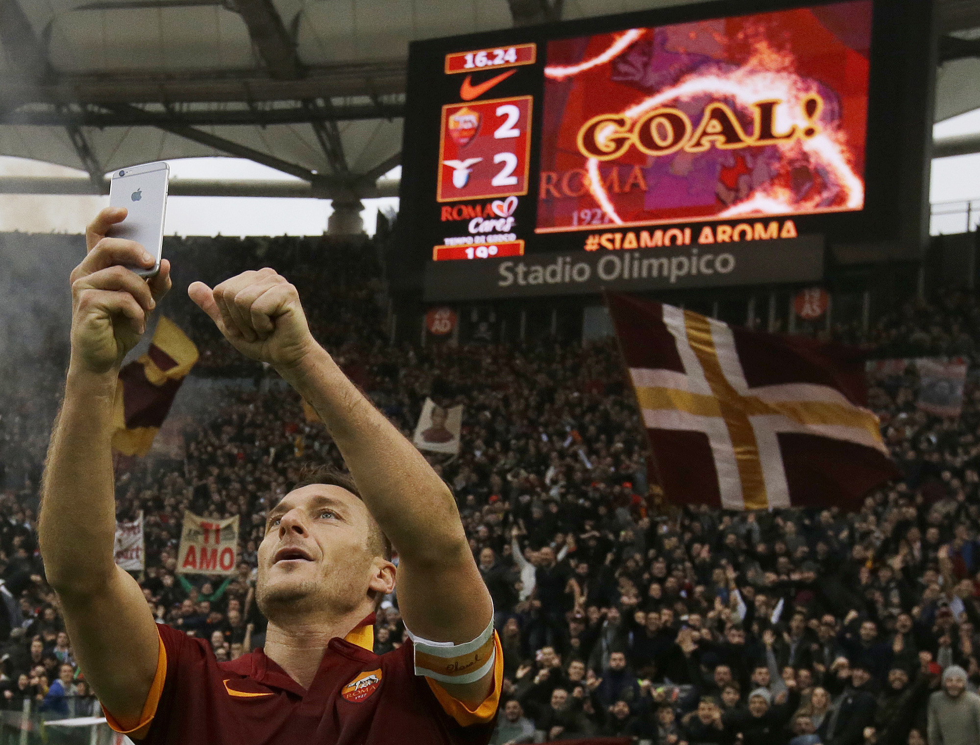Totti : 'I will be a Roma director'