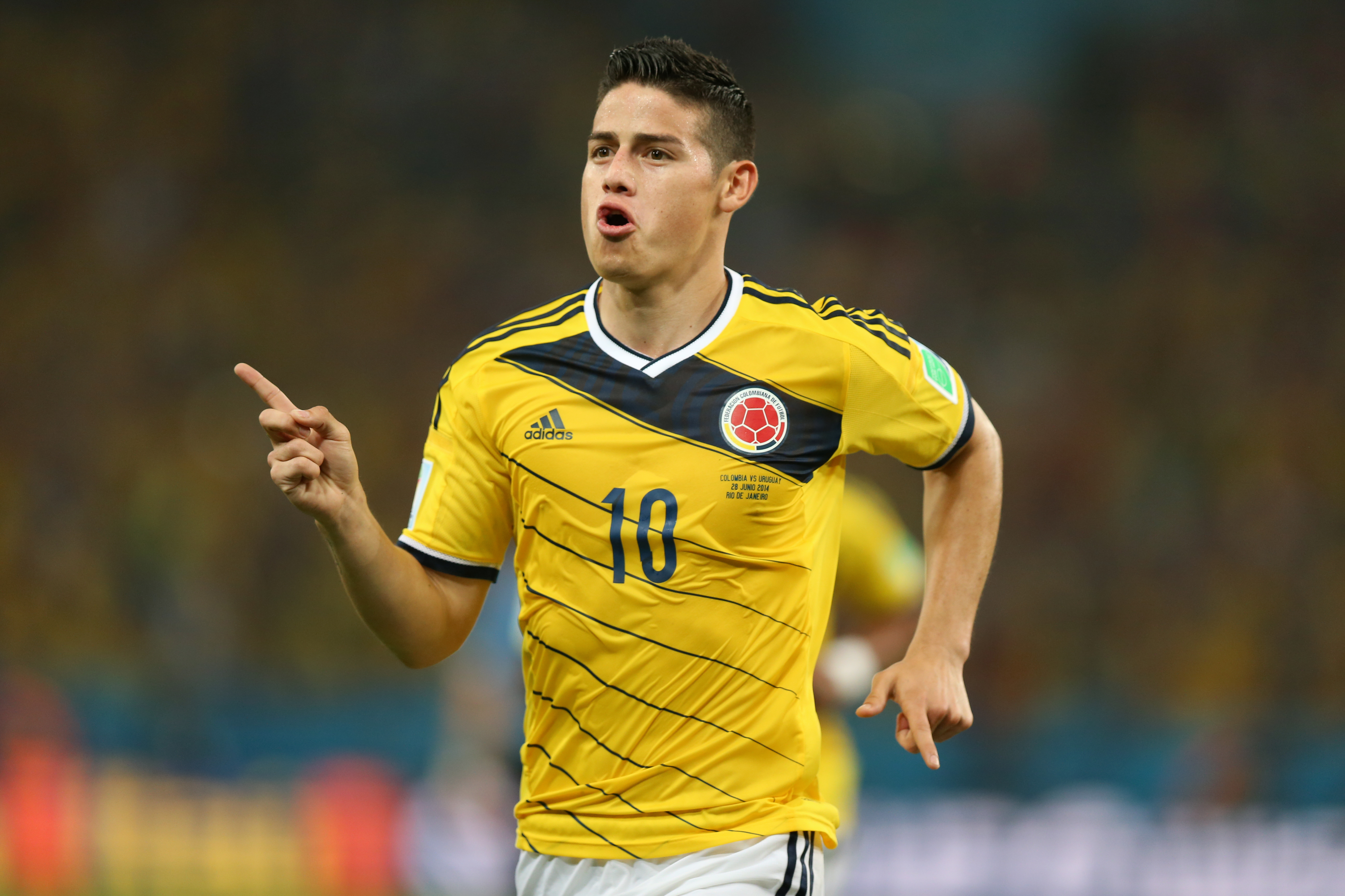Rodriguez scored the Puskas Award winning goal in the 2014 World Cup. Image: PA Images