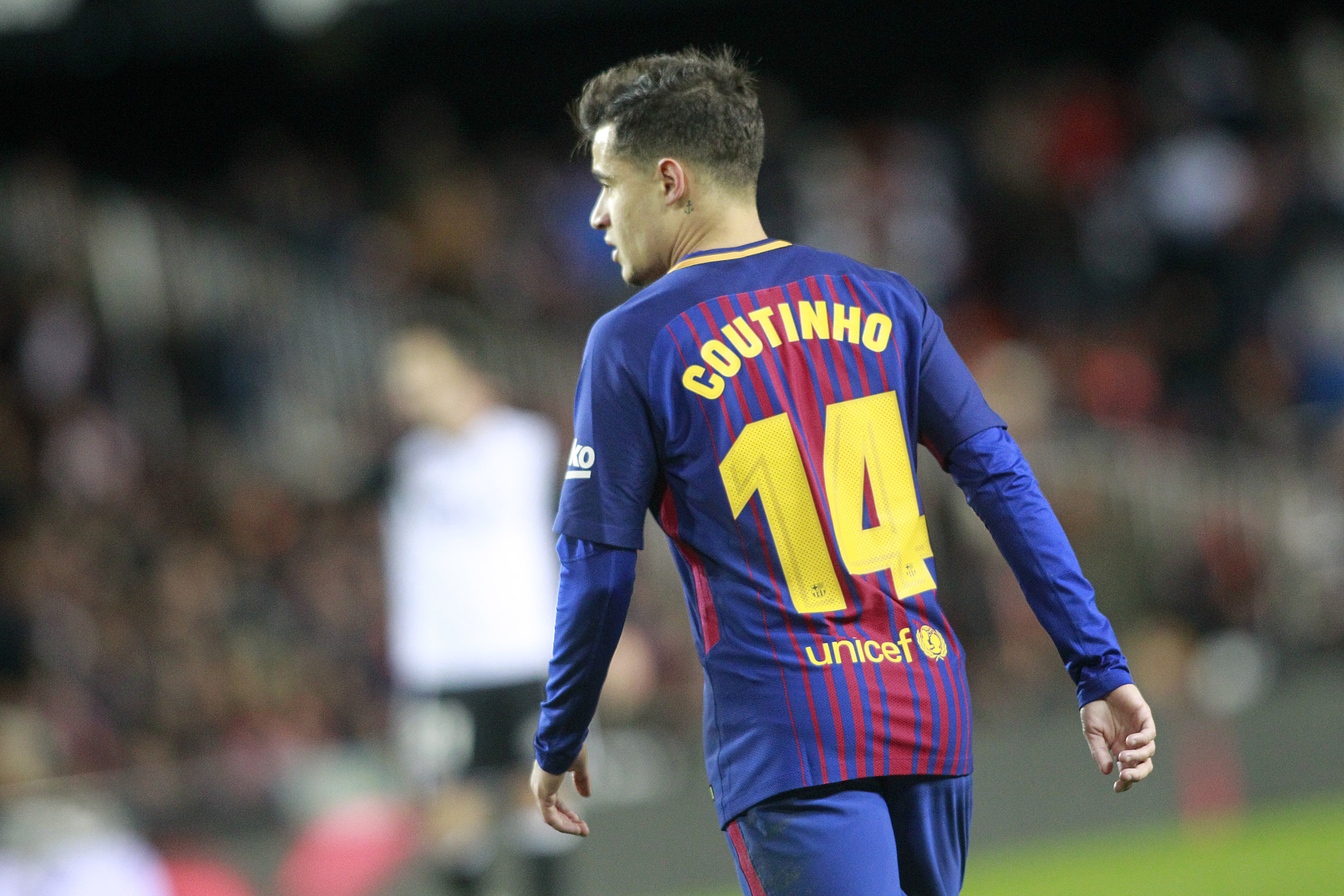 Philippe Coutinho has been given a new shirt number at Barcelona