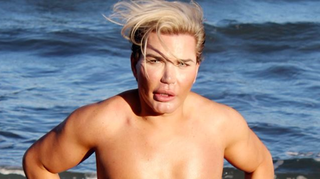 The 'Human Ken Doll' Shows Off His £22,000 Ab Implants