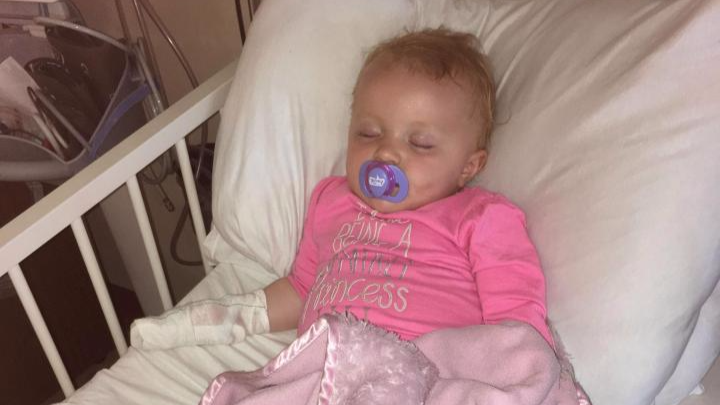 Mum Suspects Dog Urine Caused Toddler's Horrific Toe Infection After Beach Trip