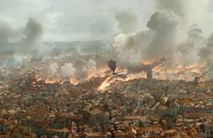 Having the ending spoilt is enough to send you into a Daenerys-style rage. Credit: HBO