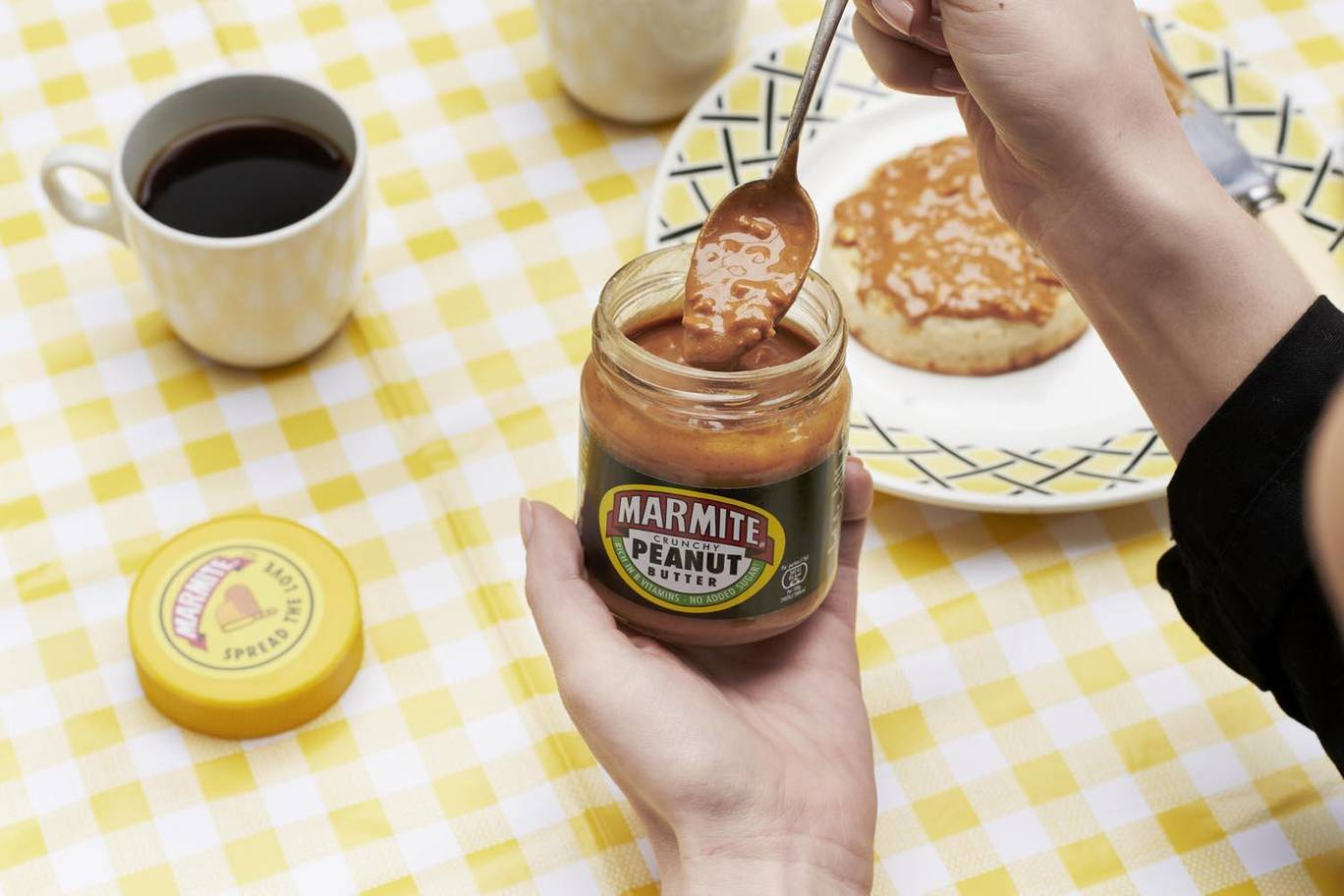 The new flavour will launch in supermarkets from next month. Credit: Marmite