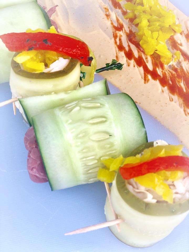 Pickle rolls from Elsie's. Credit: Facebook/@HomeOfThePickleSandwich