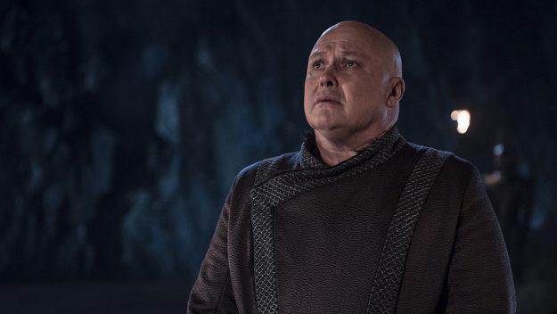 Lord Varys, we hardly knew ye... Credit: HBO