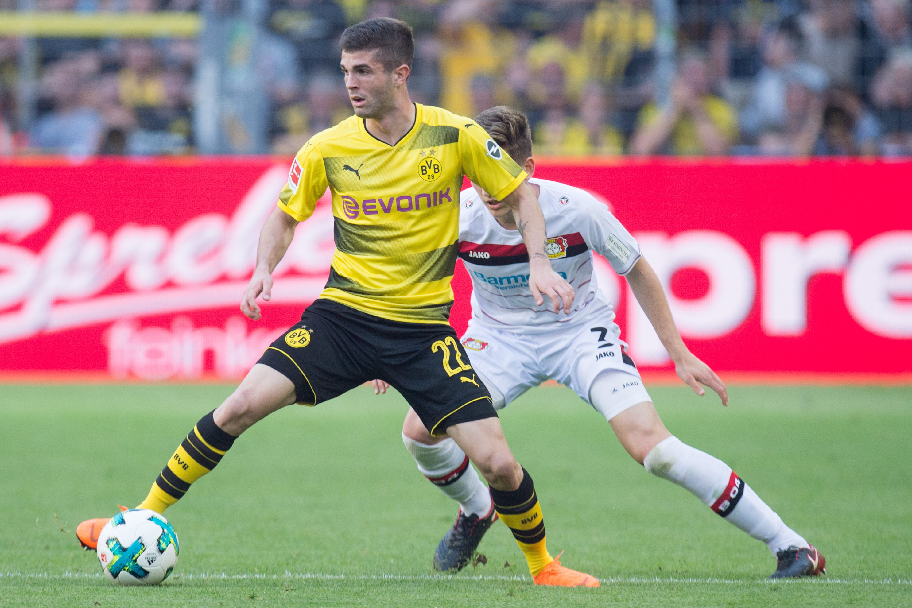 Pulisic is one of the highest regarded talents in Europe. Image PA Images