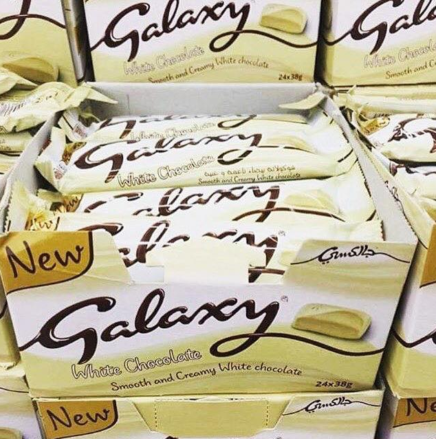This White Galaxy Chocolate Is What Dreams Are Made Of Pretty 52