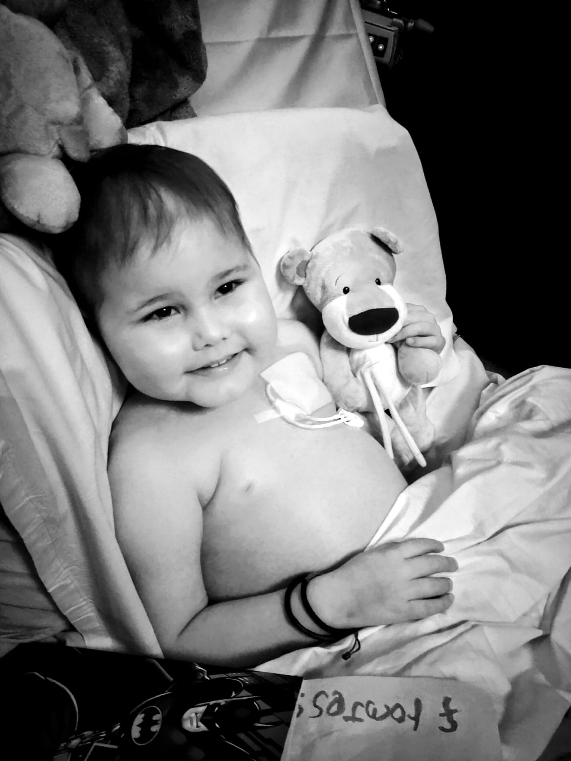 Oscar has a rare type of cancer and needs a stem cell donor. Credit: SWNS