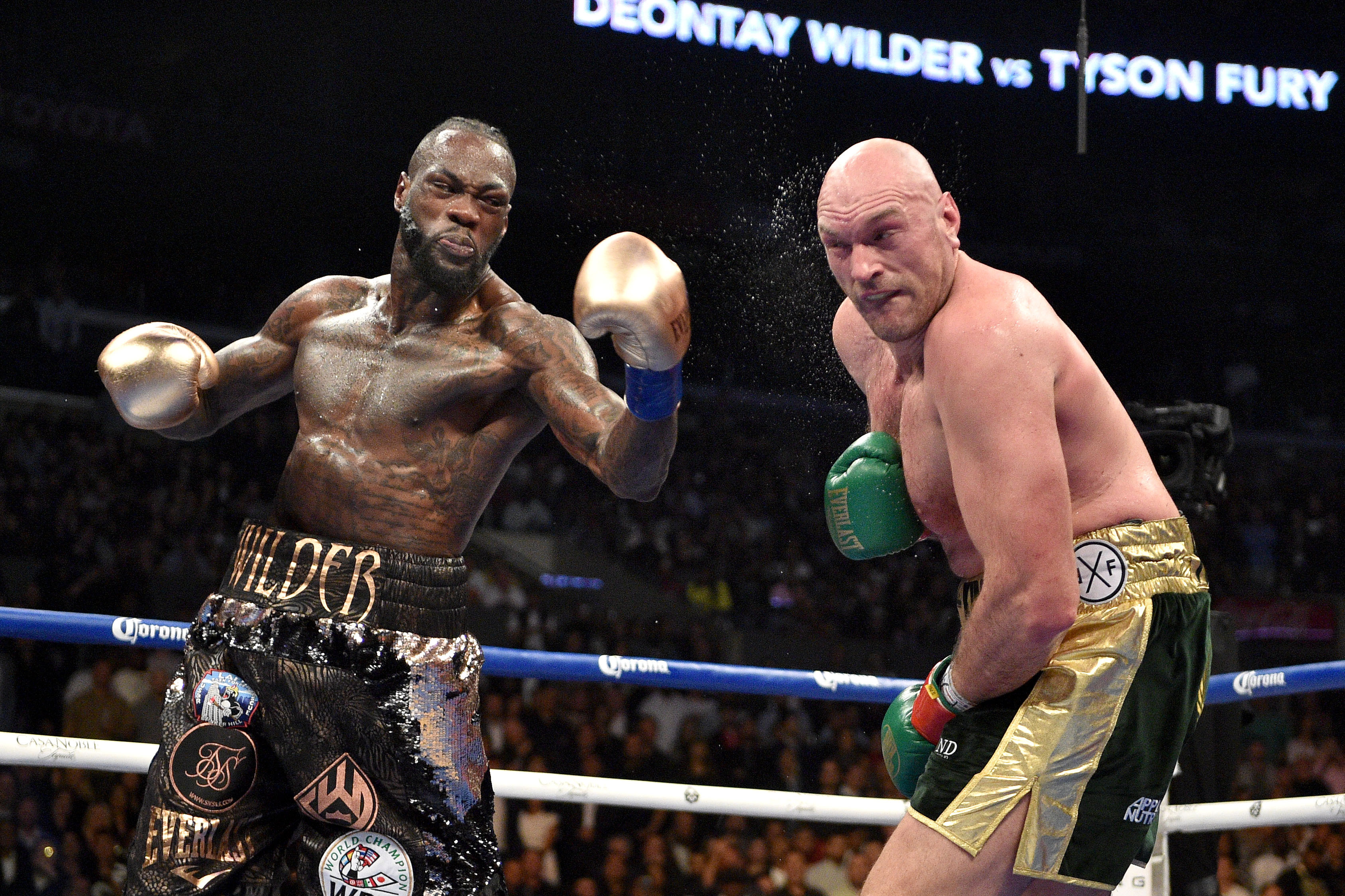 Fury anxious  Wilder is 'running' away from a rematch