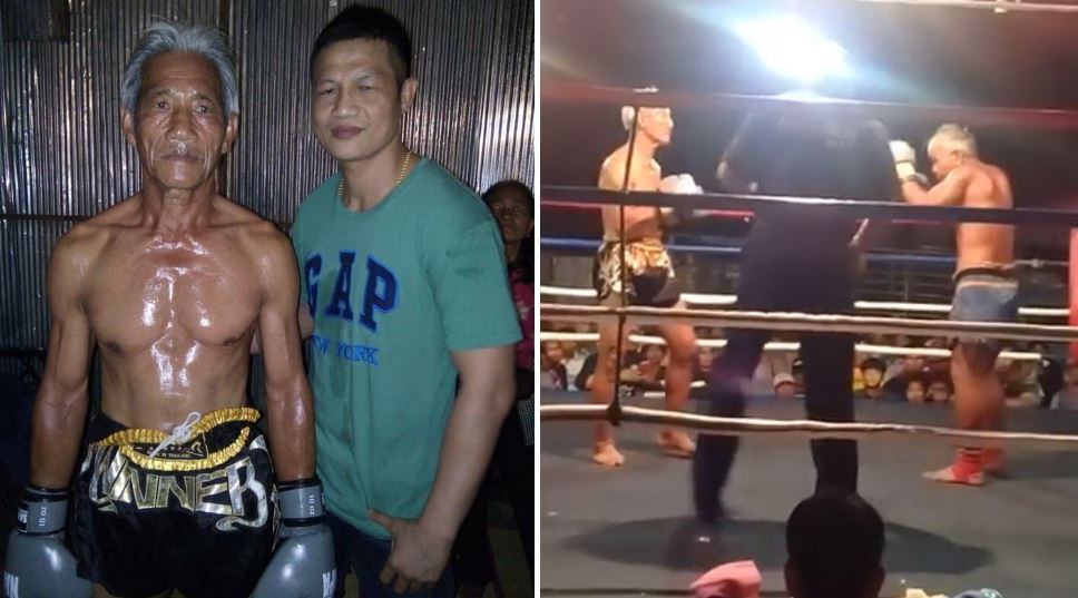 67-Year Old Muay Thai Fighter Has Had His Final Fight