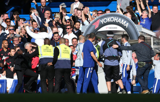 Maurizio Sarri apologised to Mourinho following equaliser scenes