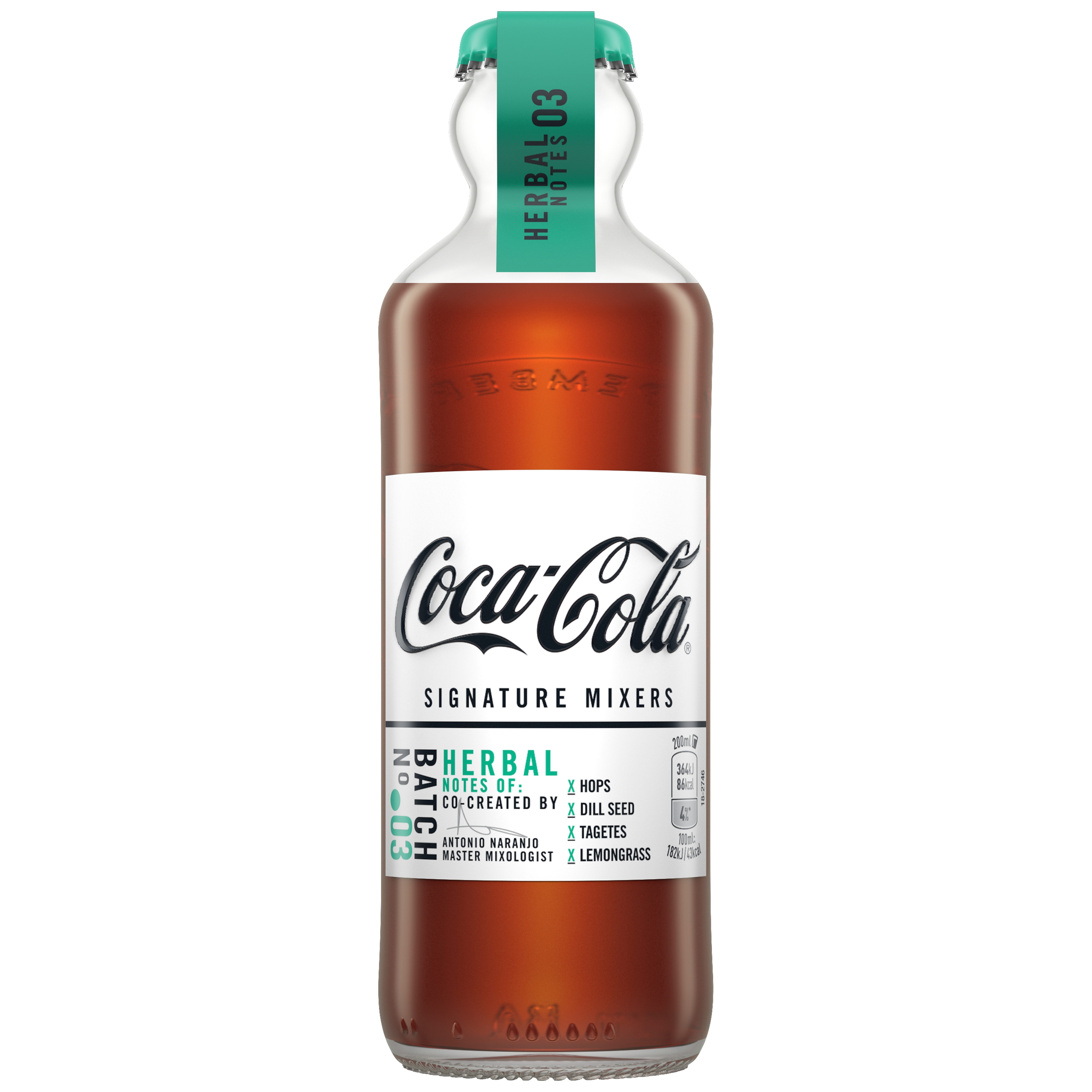 One of the flavours is 'Herbal Notes'. Credit: Coca-Cola