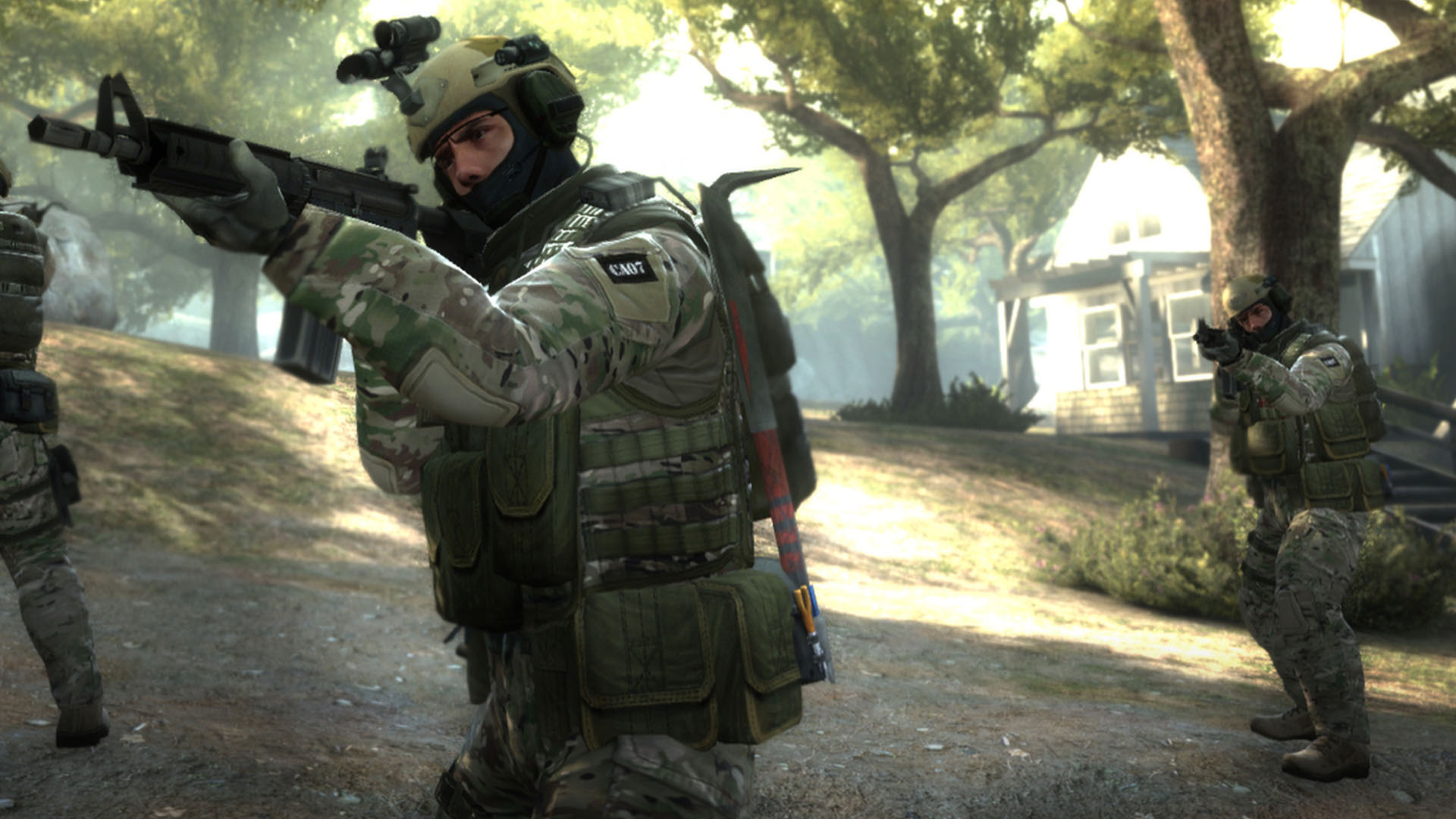 Valve added skins to Counter-Strike: Global Offensive in 2013