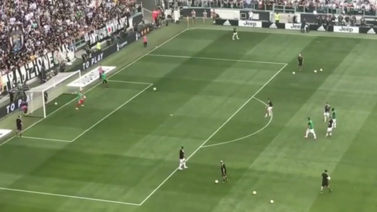 Cristiano Ronaldo S Shot Power Is Absolutely Insane Sportbible