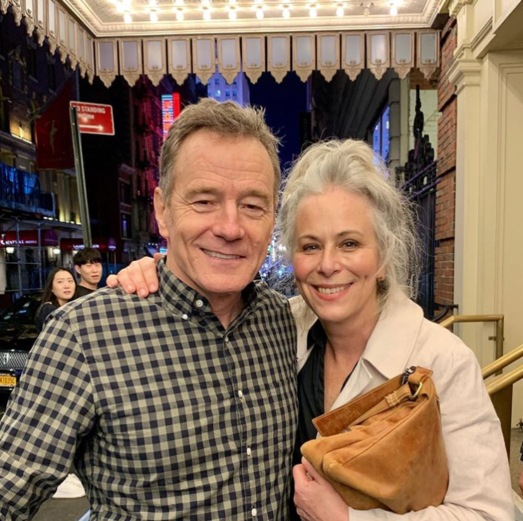 Hal and Lois, together again! Credit: Instagram