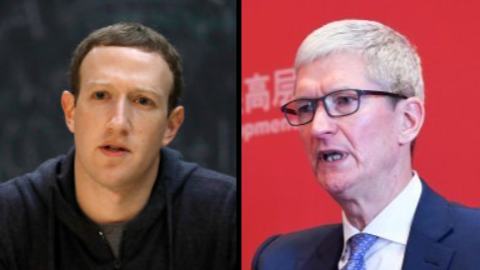 Facebook's Mark Zuckerberg Hits Back At Criticism From Apple CEO Tim Cook