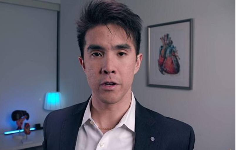 Dr Bernard shared the details of the case on his YouTube channel. Credit: YouTube/Chubbyemu