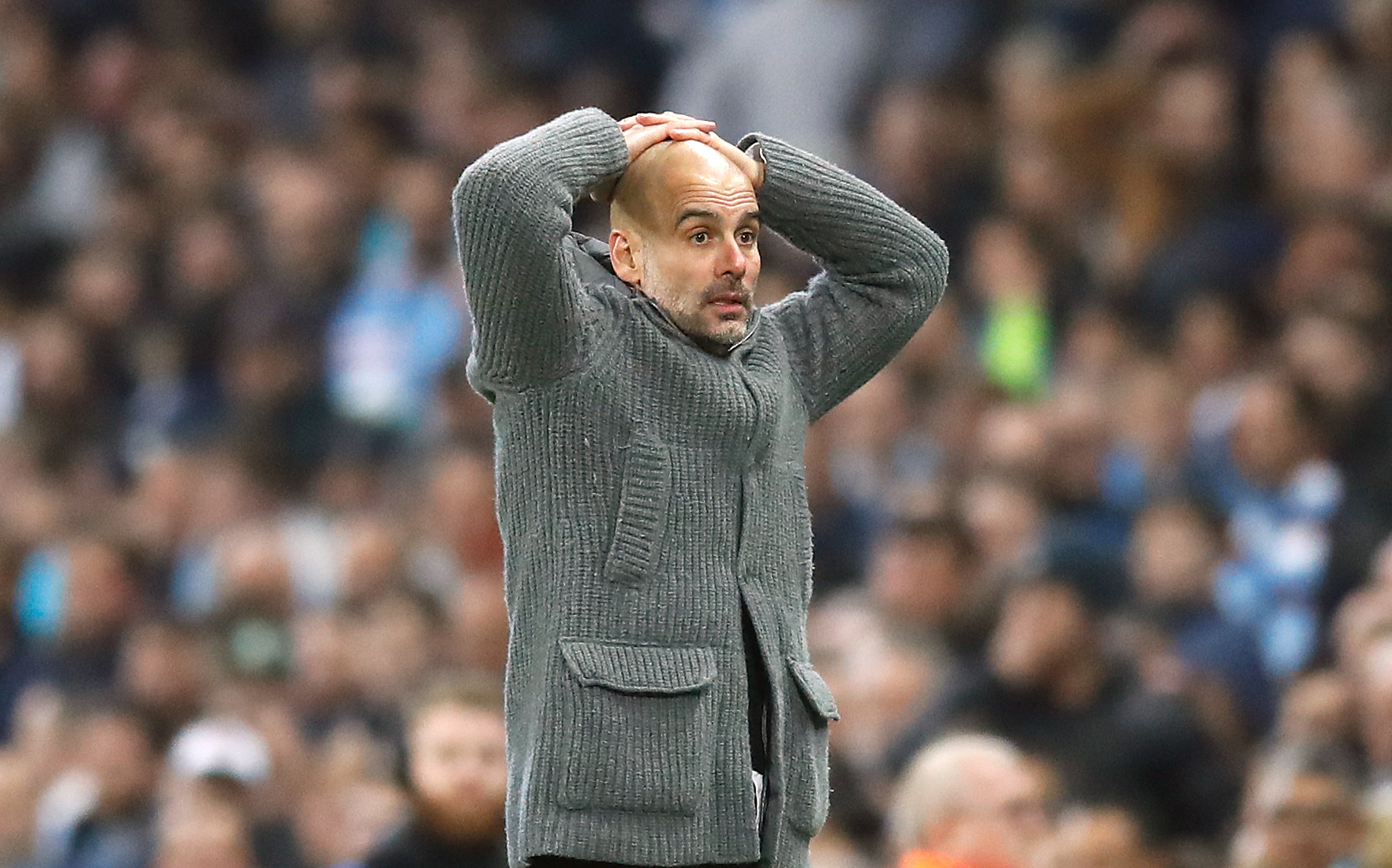 Macaulay thinks Pep will get over City's Champions League issues to complete an incredible quadruple. Image: PA Images