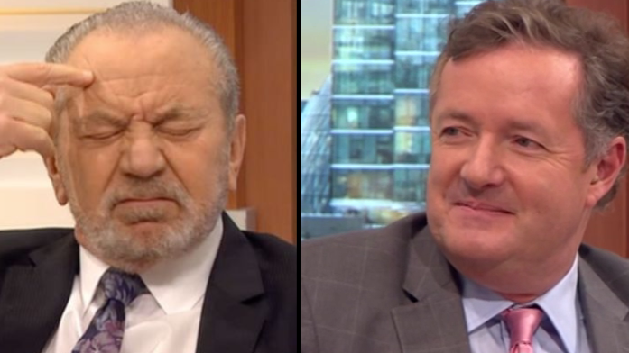 Lord Sugar Calls Piers Morgan A 'Beached Whale' As The Pair Agree To Slimming Bet