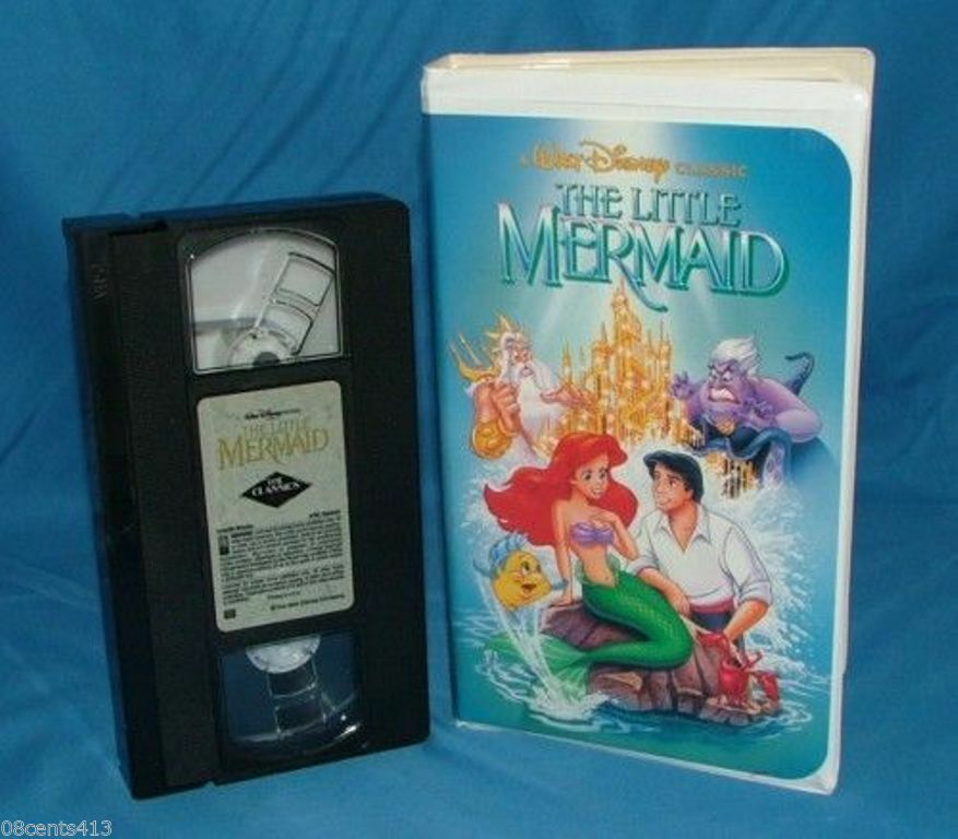 This The Little Mermaid tape could set you back nearly £8,000. Credit: eBay