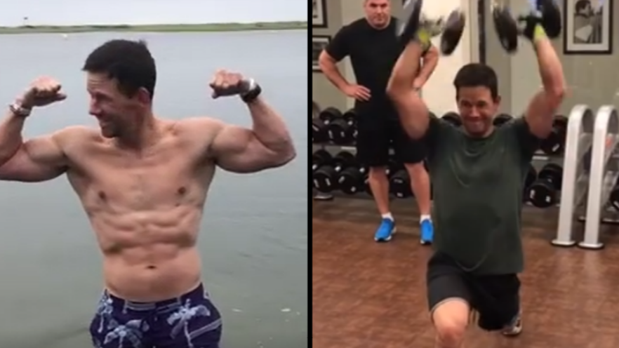 mark wahlberg s daily workout routine is absolutely ridiculous