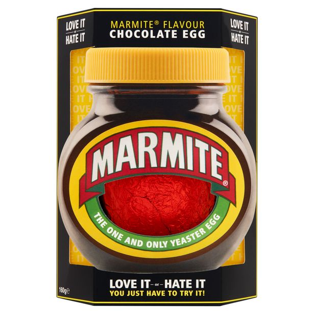 The Marmite Easter egg costs £3 from Asda. Credit: Marmite