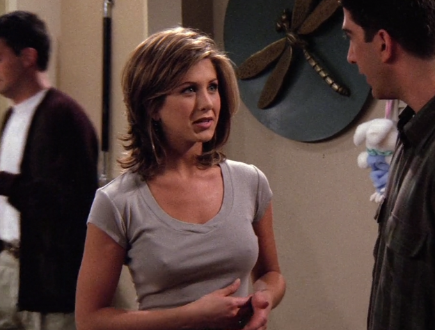The Theory To Why Jennifer Aniston's Nipples Were Always Showing In 'Friends'