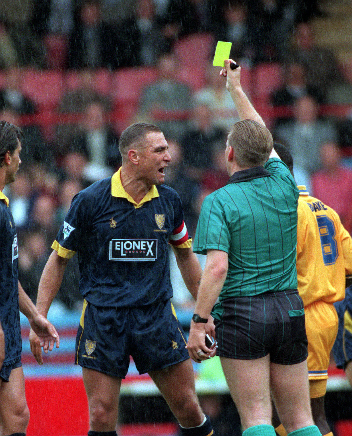 When Vinnie Jones Once Got Booked Three Seconds Into A ...