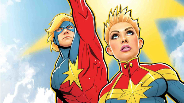 Captain Marvel as seen in the comics. Credit: Marvel