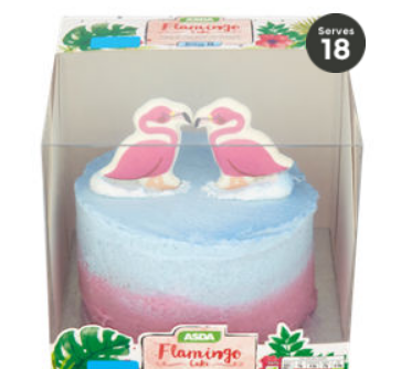 Asda Has Released A Flamingo Cake Range And Its Cheap As Chips
