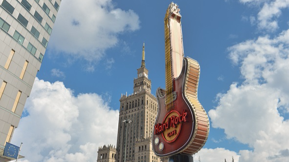 Hard Rock To Open Hotel Shaped Like A Guitar - Well, Half Of One