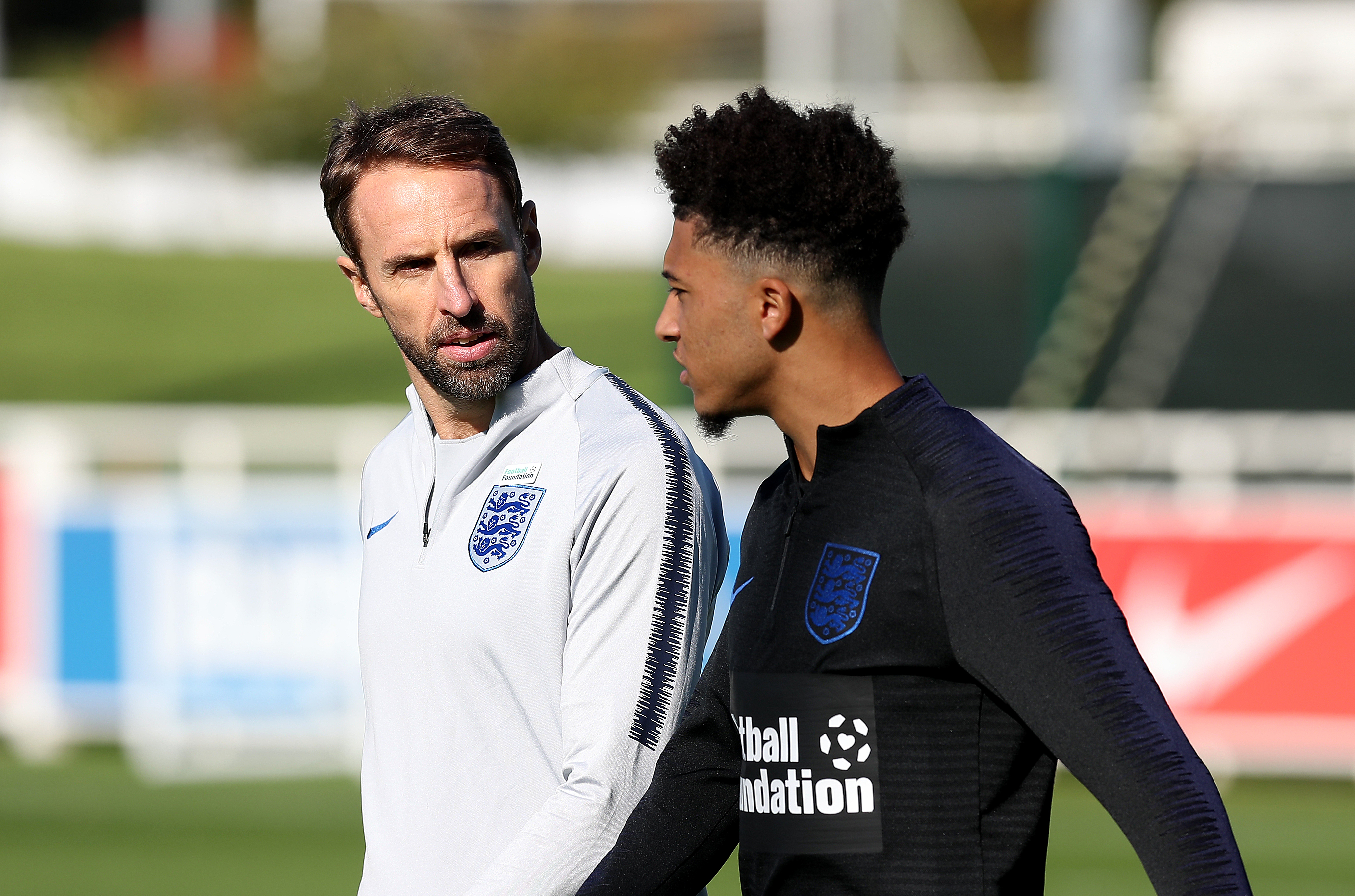 Sancho has earned his first England call up. Image: PA Images