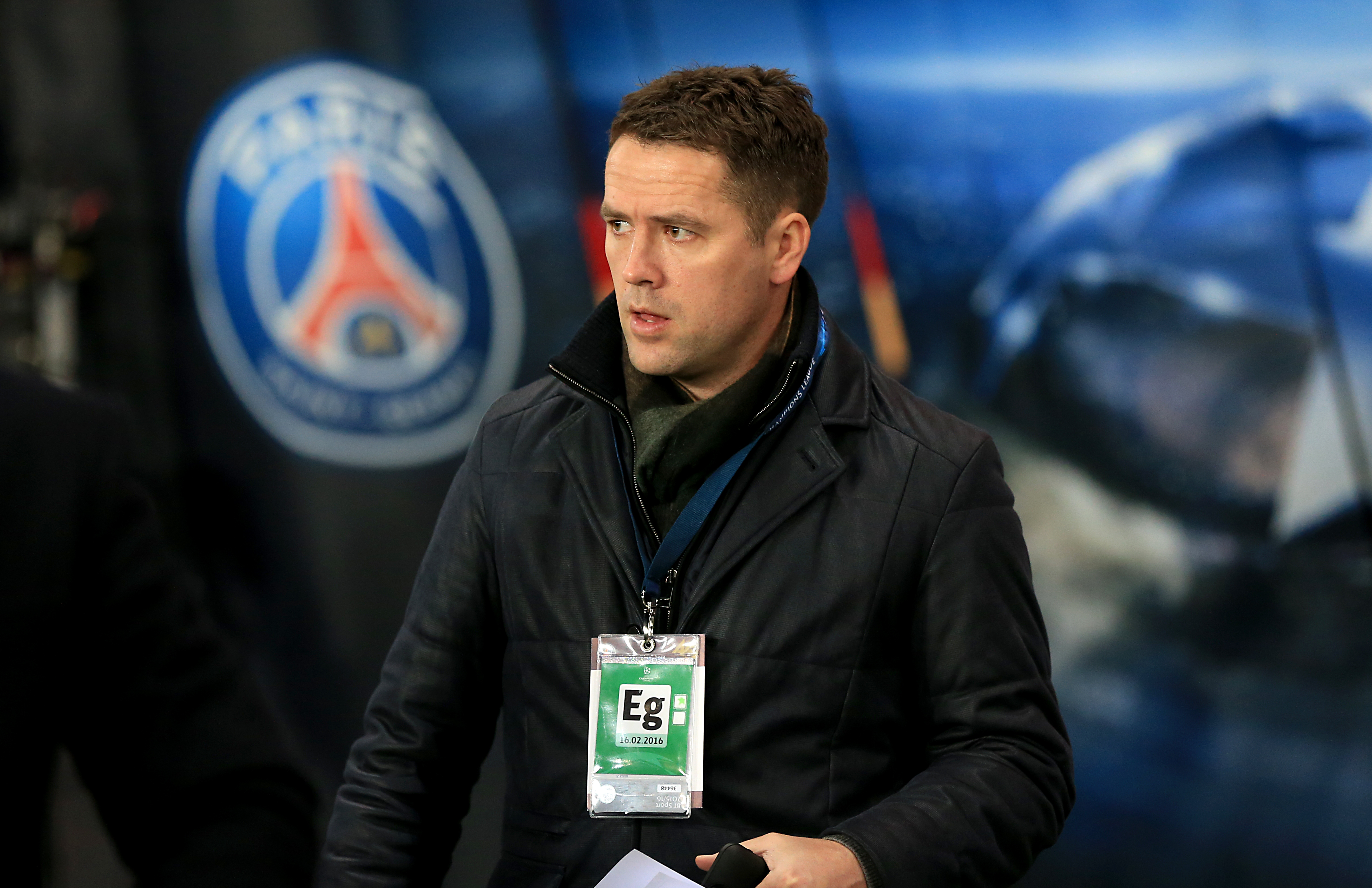 Michael Owen Branded 'Disrespectful' After Posting Picture Of Ronaldo On Twitter