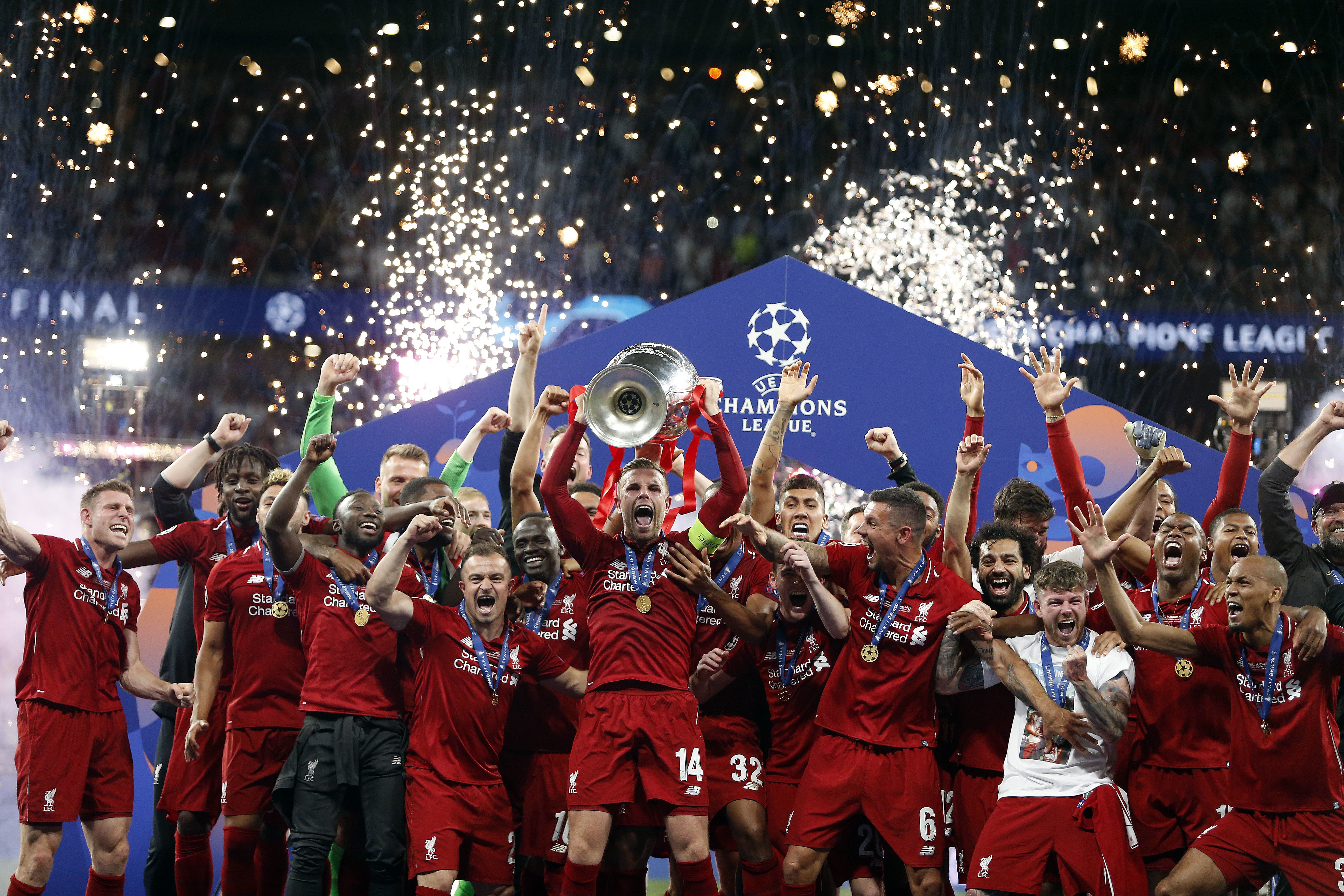 Liverpool won their sixth Champions League in Madrid last season and 42nd major honour