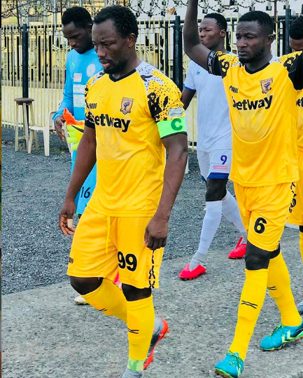 Sadick Adams currently plays for Ashanti Gold FC