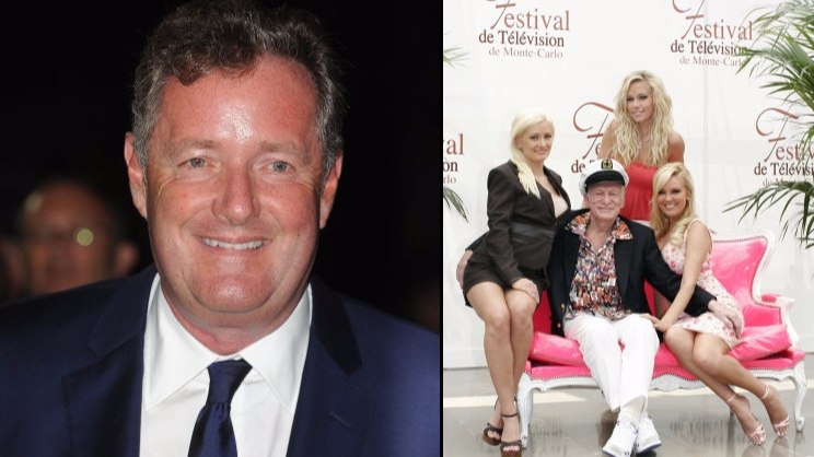 Piers Morgan Broke The One 'Golden Rule' When Visiting The Playboy Mansion