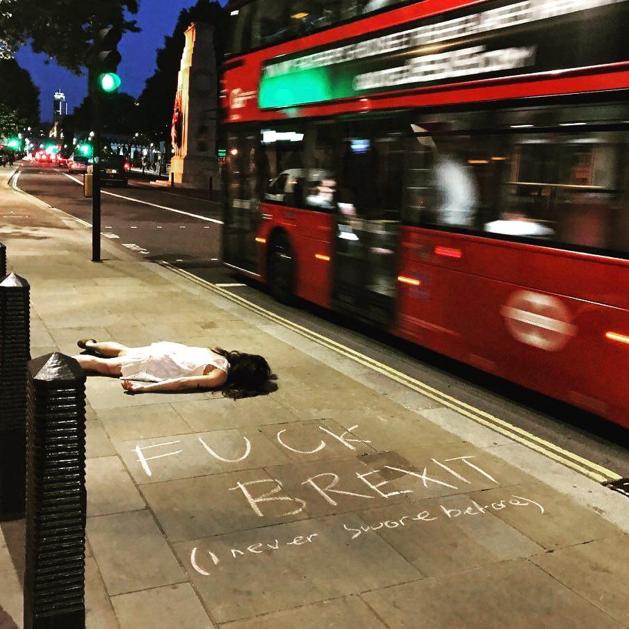 London, obviously. Credit: Instagram/Stefdies