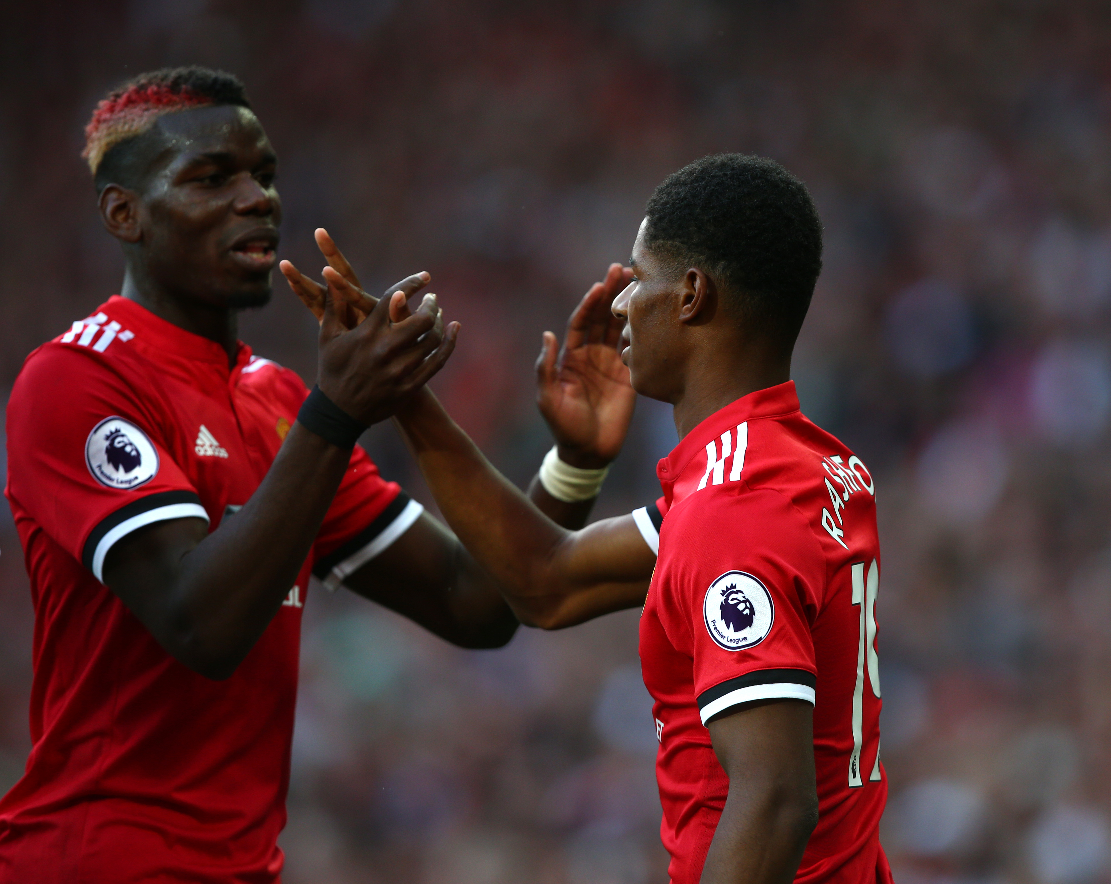 Pogba and Rashford's resurgence has been part of the catalyst for United's change in fortunes. Image: PA Images
