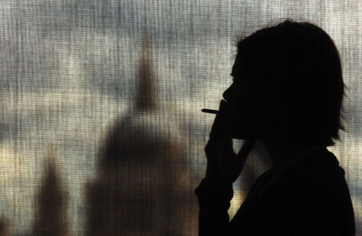Smoking is predicted to be a thing of the past by 2051. Credit: PA