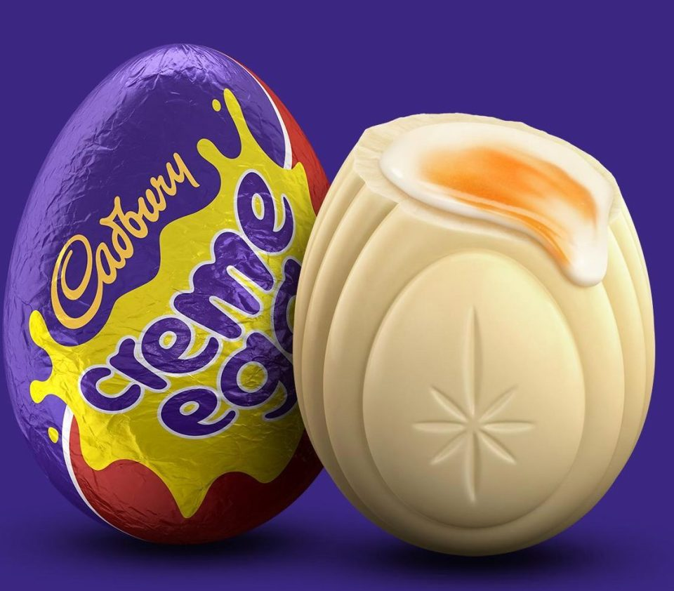 There will be 743 white Creme Eggs. (Credit: Cadbury's)