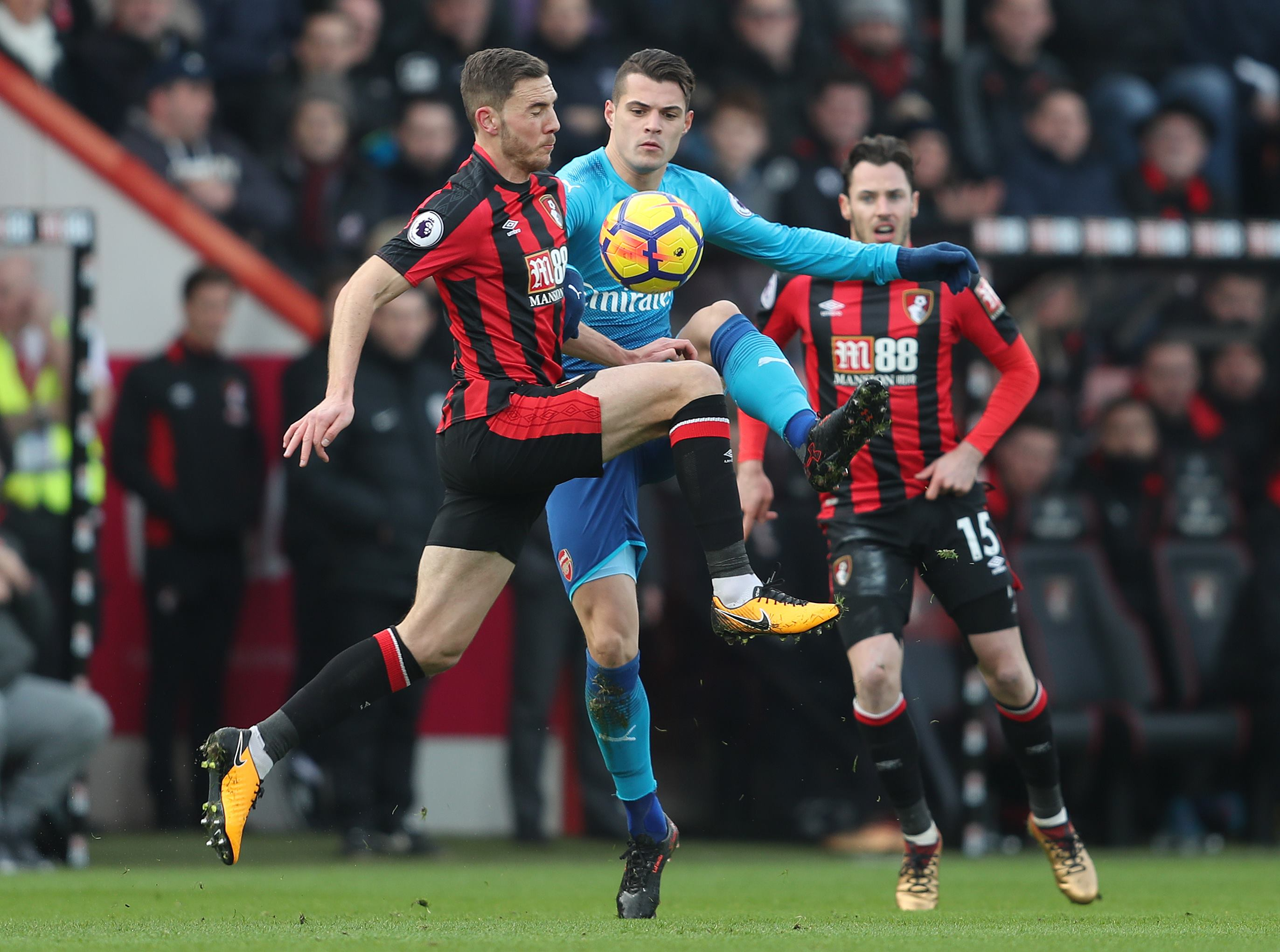 Bournemouth bounce back to stun Arsenal on south coast
