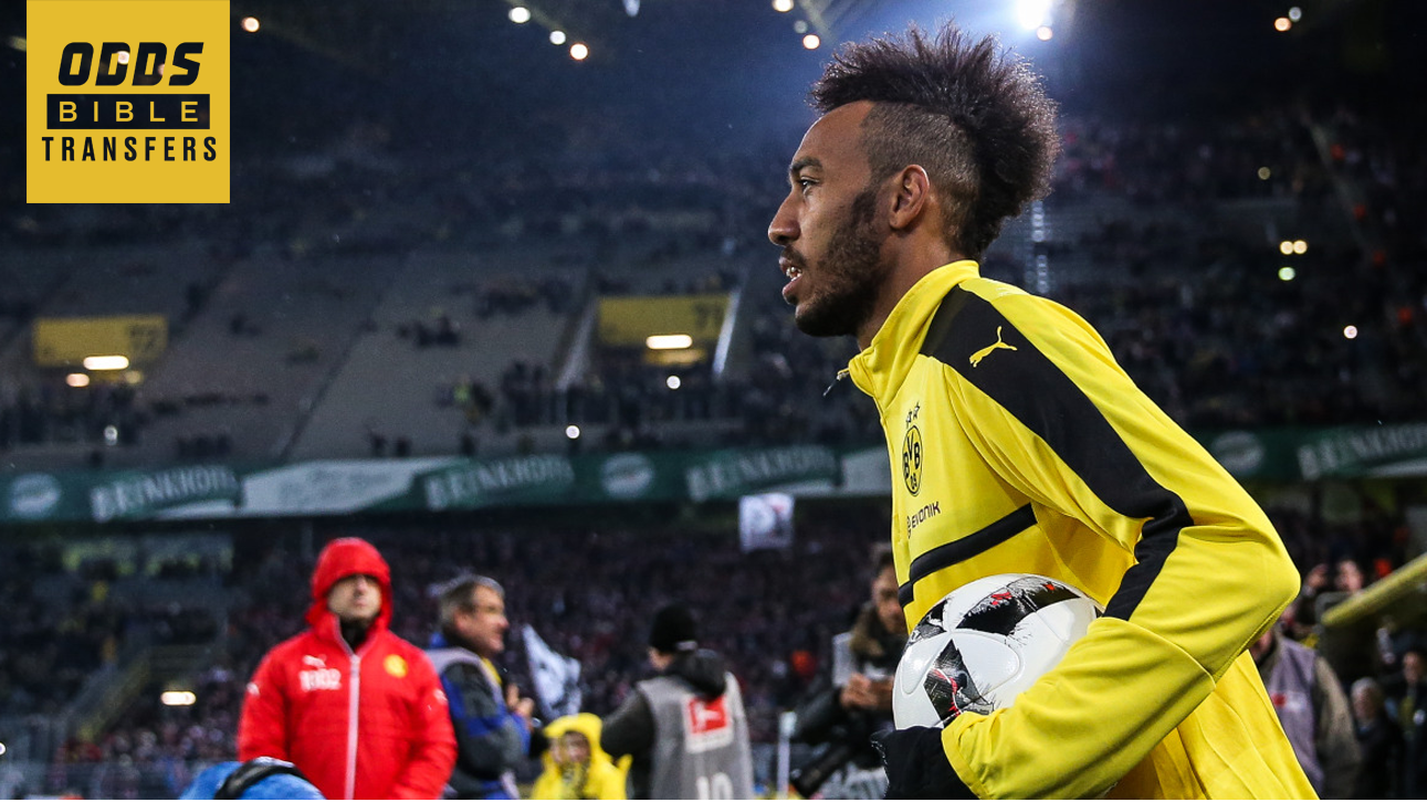Aubameyang Odds On For Premier League Switch This Summer | ODDSbible
