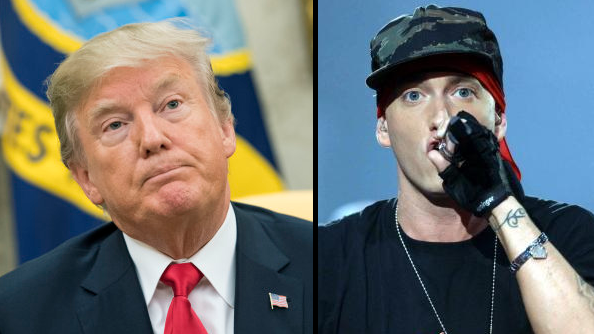 Donald Trump Once 'Backed Eminem For President'