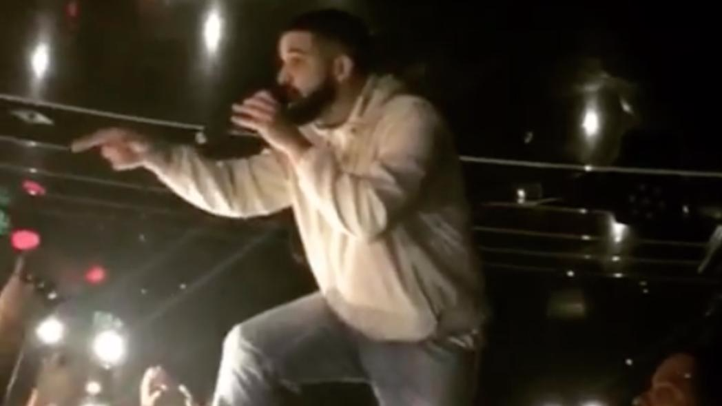 Drake Stops Gig To Scream At Fan To Stop Groping Women