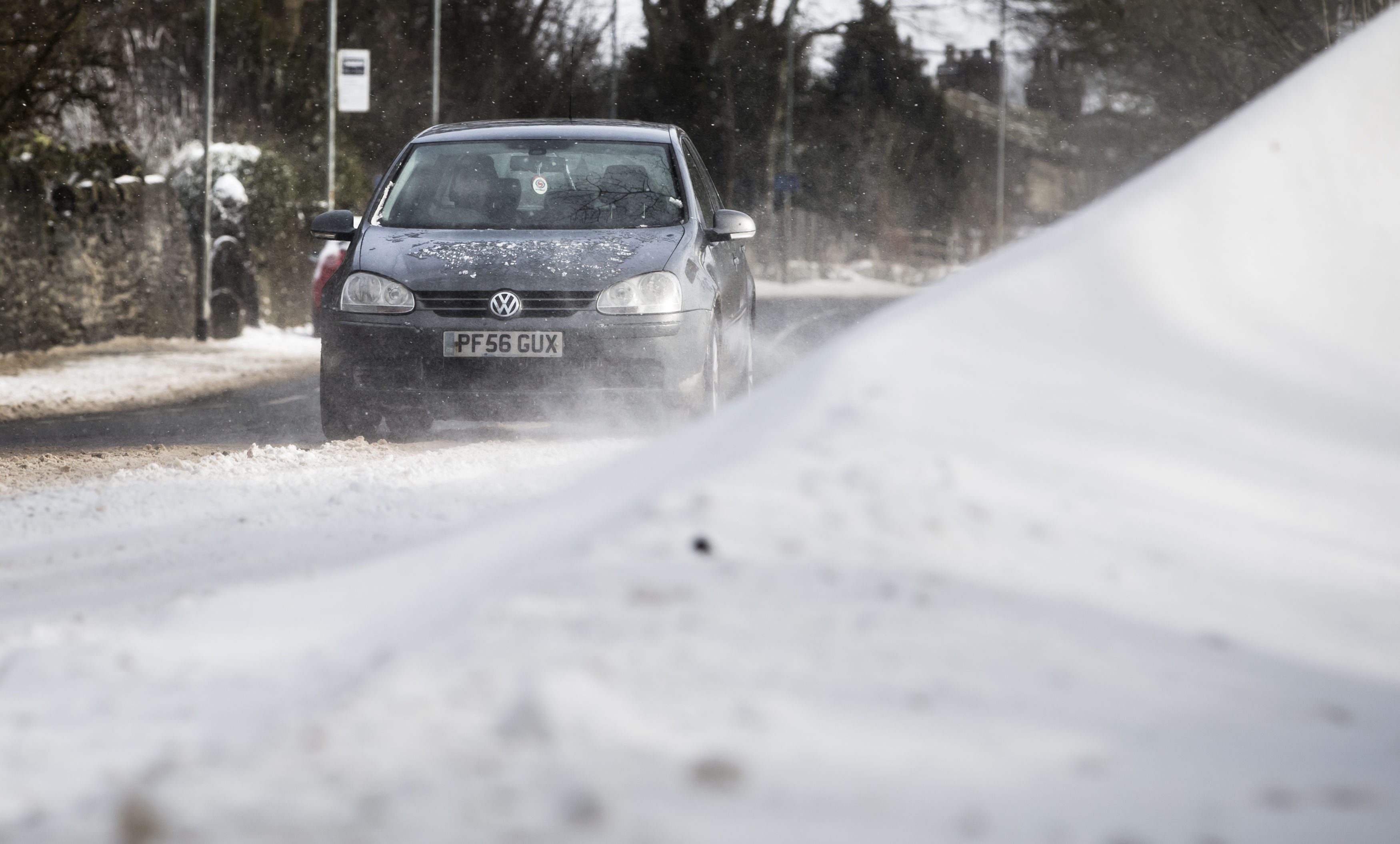 Parts of the UK could get up to 5cm of snow by next week. Credit: PA