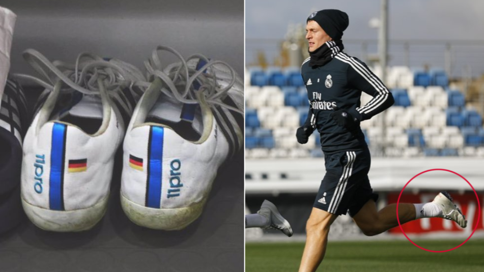 e30ad849749 Toni Kroos Finally Changes His Boots After Wearing The Same Pair Since 2014
