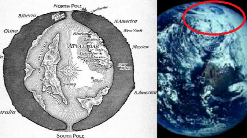 Don't Believe The Earth Is Flat? How About Hollow?